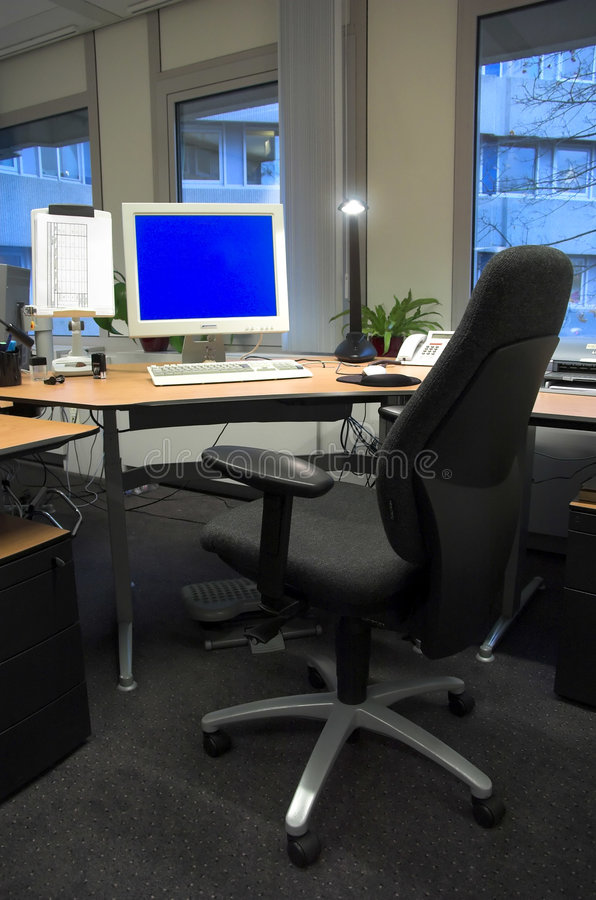 Büroraum stockfoto