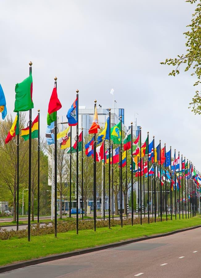 Büros der Vereinten Nationen stockfotografie