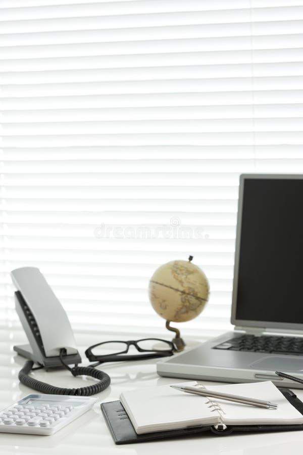 Büroschreibtisch stockfoto