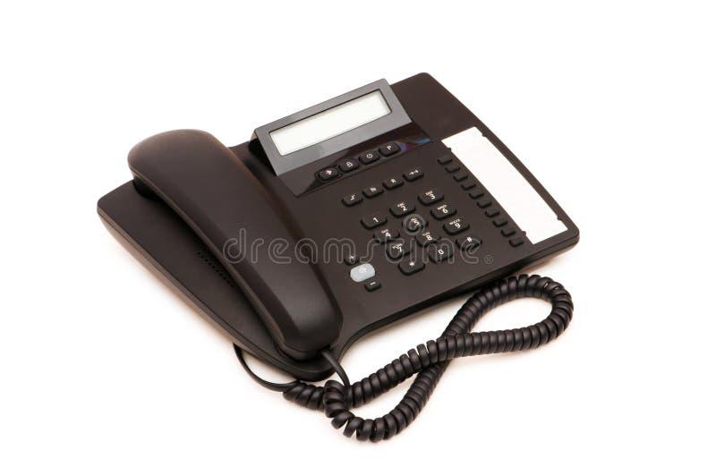 Bürotelefon getrennt stockbild