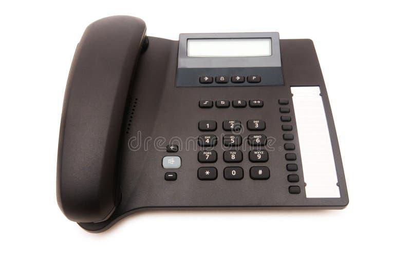 Bürotelefon trennte stockbild