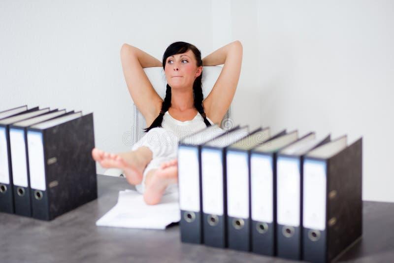 Büroträume lizenzfreie stockbilder
