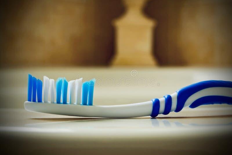 Bürste - Zahn lizenzfreie stockbilder