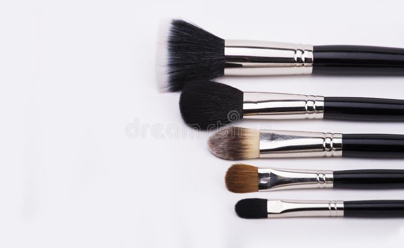 Bürsten für Make-up stockfoto