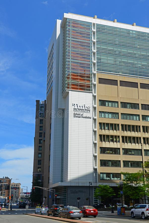 Büschel Universität, Boston, Massachusetts, USA lizenzfreie stockbilder