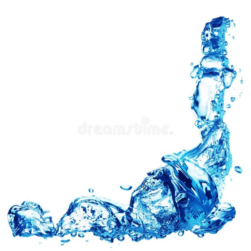 bąbel woda obraz stock