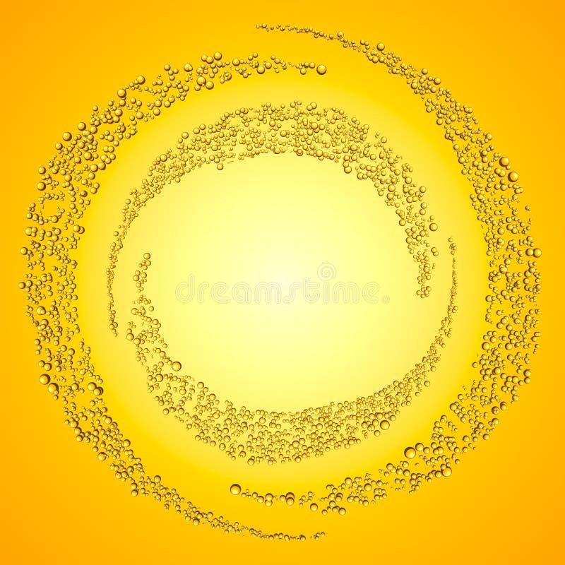 Bąbla okrąg obrazy royalty free