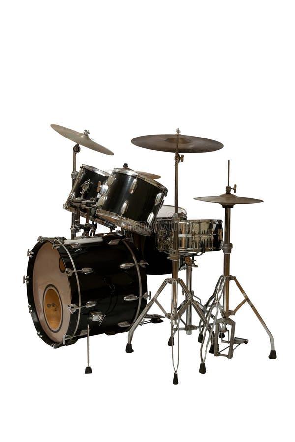Bębenu instrumentu muzycznego ikony ustalony wizerunek zdjęcia royalty free
