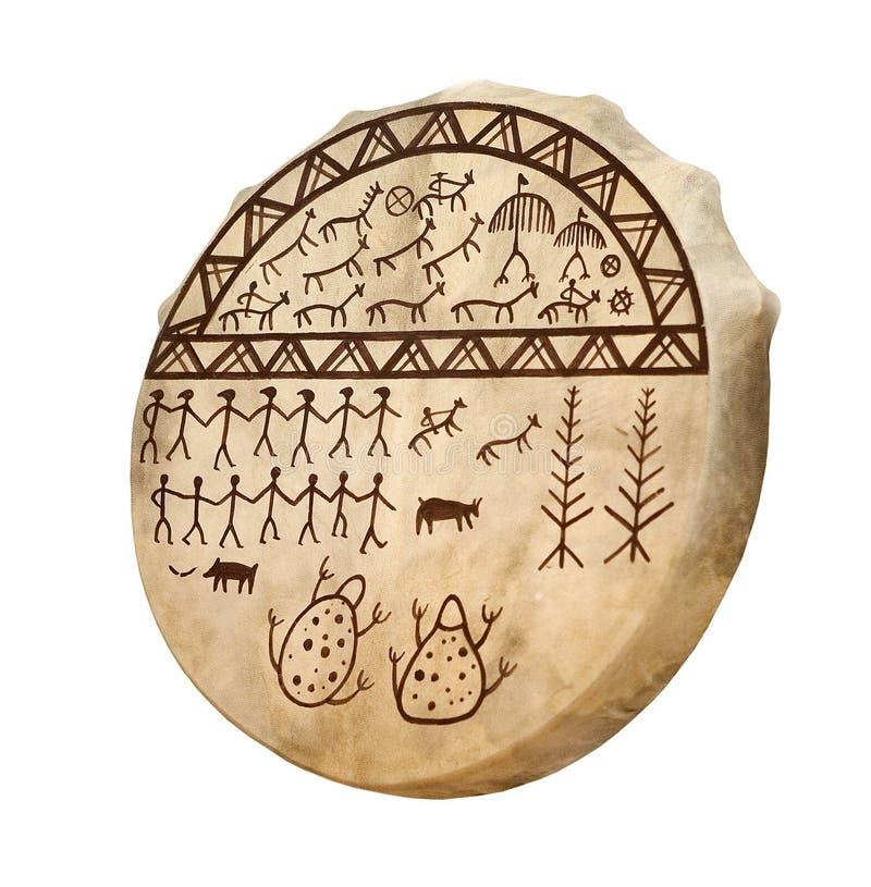 bębenu szaman zdjęcia stock