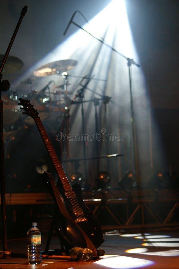 bębny na gitarze fotografia royalty free