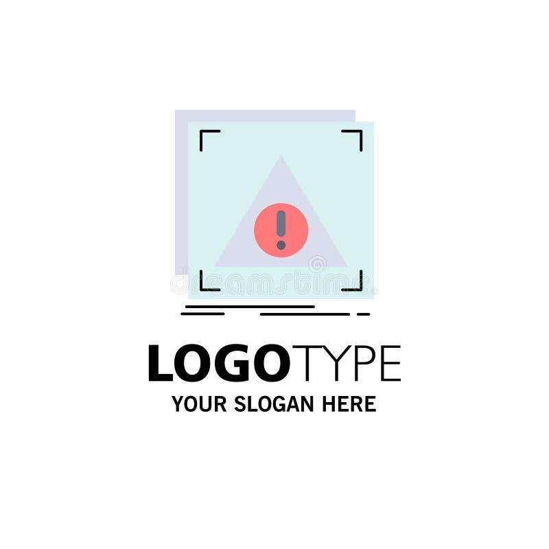 Błąd, zastosowanie, Zaprzeczający, serwer, raźny Płaski kolor ikony wektor ilustracja wektor