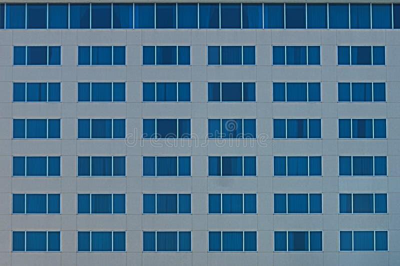 Błękit ściana Windows zdjęcie stock