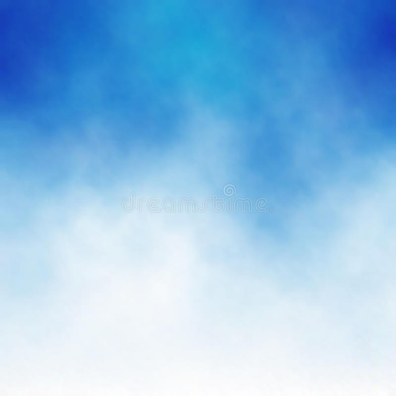 błękit chmura ilustracji