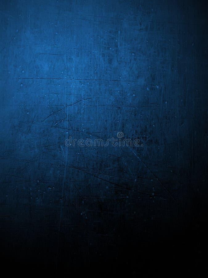 Błękit coloured tynk ściana royalty ilustracja