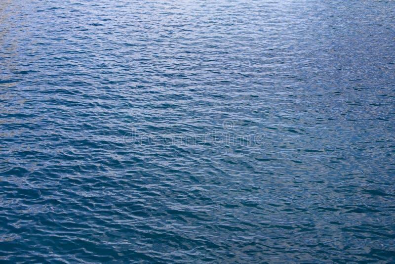 błękit delikatne oceanu wody fala zdjęcie royalty free