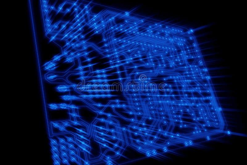 błękit deski obwodu światła promienie widzią widzieć obraz stock
