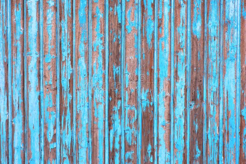 błękit drewniany ścienny obrazy royalty free