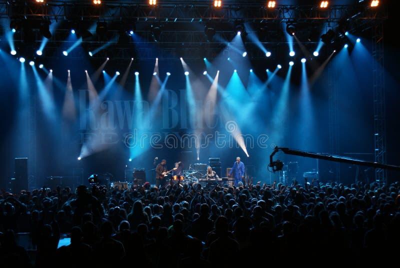 błękit festiwal obraz royalty free