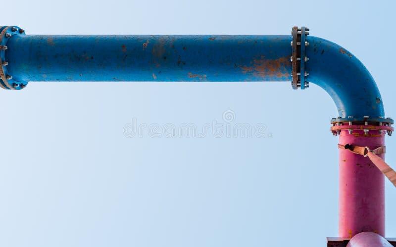 Błękit i różowa drymba łączymy zdjęcie stock