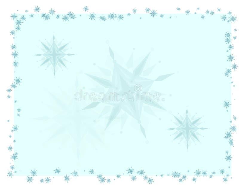 błękit jaskrawy karciani boże narodzenia royalty ilustracja