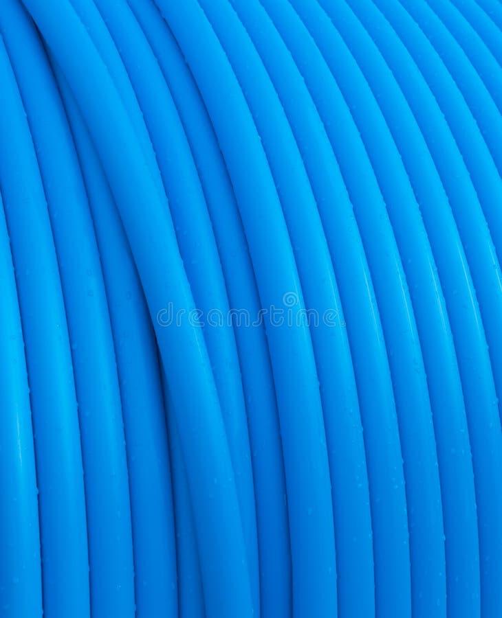 błękit kabel zdjęcia stock