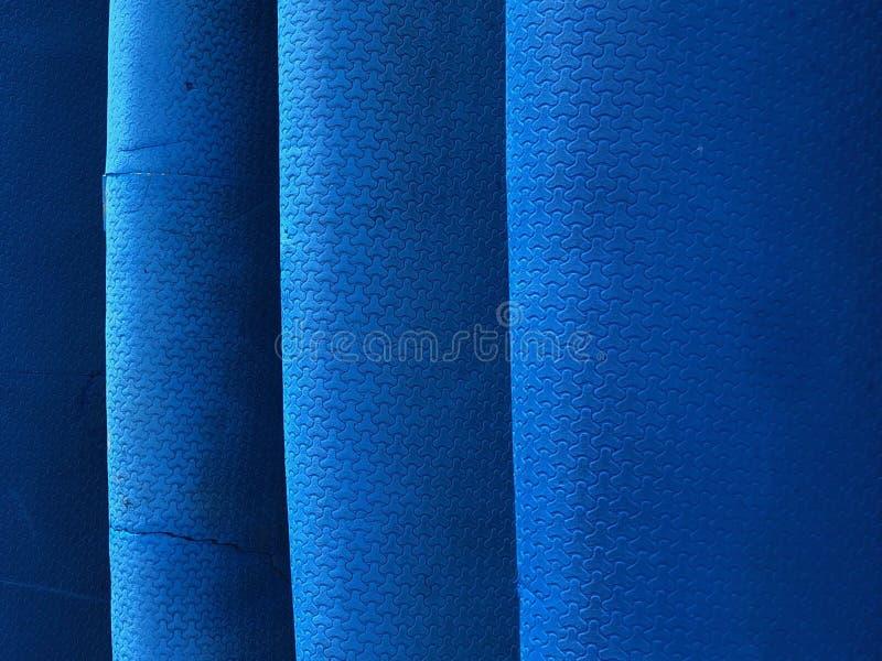 Błękit kipieli struktury tetail fotografia stock