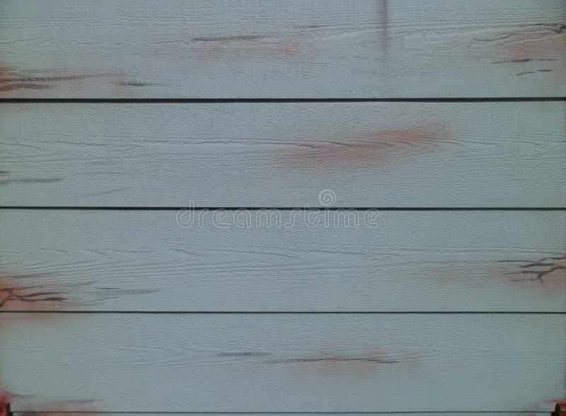 Błękit malować drewniane deski obraz stock