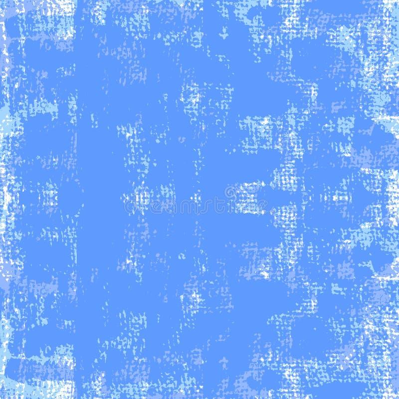 Błękit malujący grunge tło również zwrócić corel ilustracji wektora ilustracji