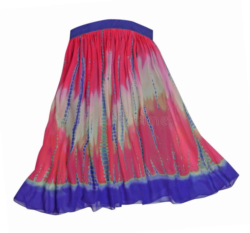 błękit menchii spódnicy fiołek zdjęcie stock