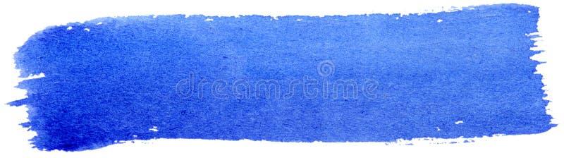 błękit muśnięcia farba obraz stock