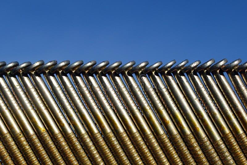Download Błękit nieba paznokci zdjęcie stock. Obraz złożonej z tło - 47092