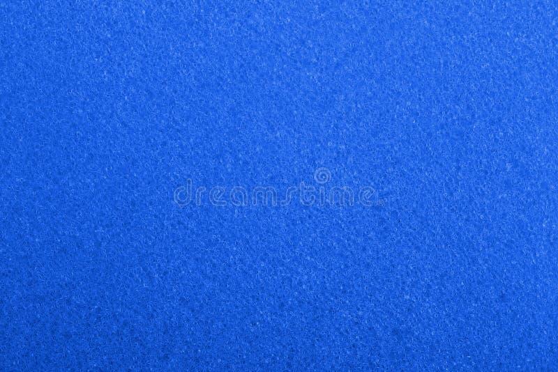 Błękit piany tekstura typ zdjęcia stock
