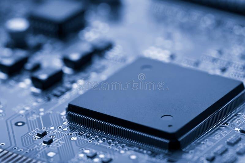 błękit stonowany deskowy elektroniczny obrazy royalty free