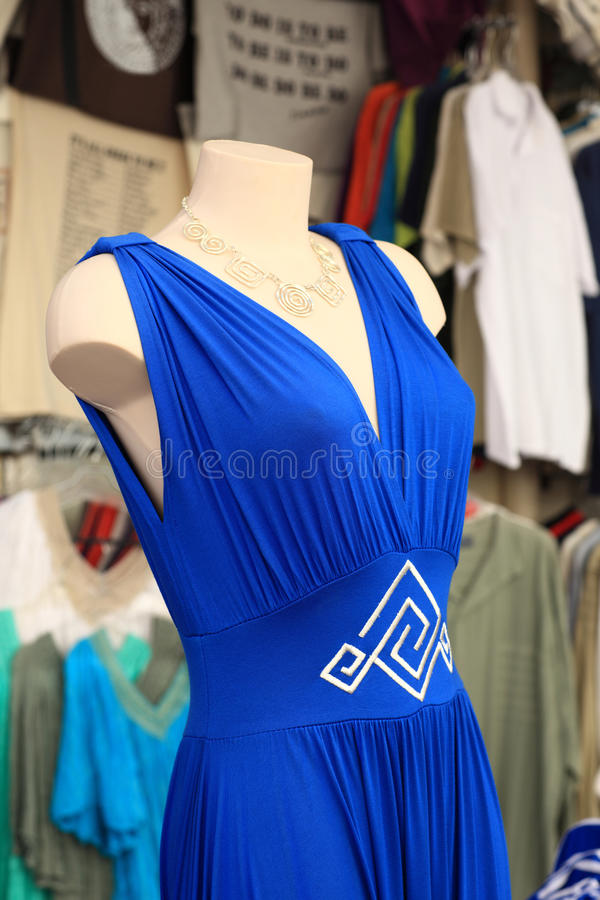 Download Błękit suknia zdjęcie stock. Obraz złożonej z wyznaczający - 28956026