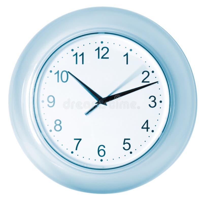 błękit zegar zdjęcie royalty free