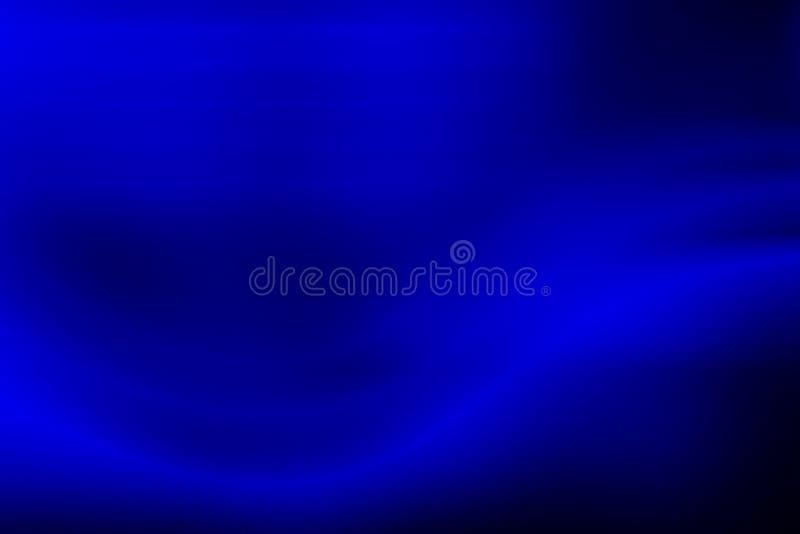 Błękita światła plamy abstrakcjonistyczny tło, zaświeca zamazanego royalty ilustracja