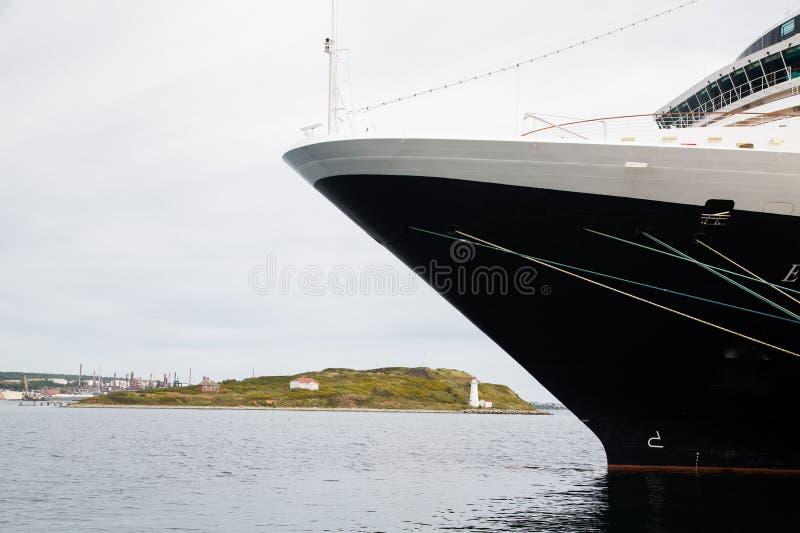 Błękita i bielu łuska w Halifax fotografia royalty free