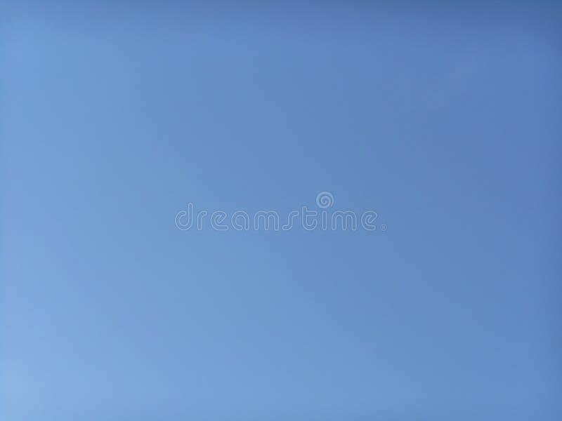 Błękita jasny niebo bez chmur obrazy royalty free