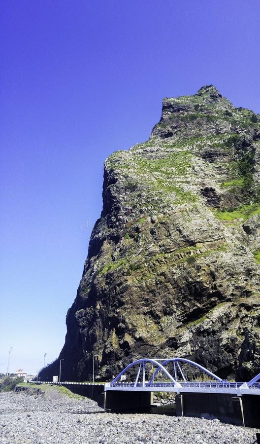 Błękita most na Madeira wyspie obrazy royalty free
