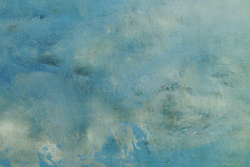 Błękitna abstrakcjonistyczna tekstura lub tło zdjęcie stock