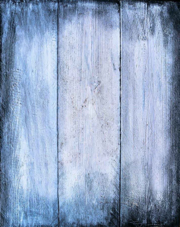 Błękitna drewniana tekstura, szalunku tło fotografia stock