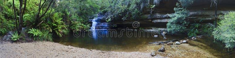 Błękitna góry siklawy podkowy niecka Blackheath obrazy royalty free