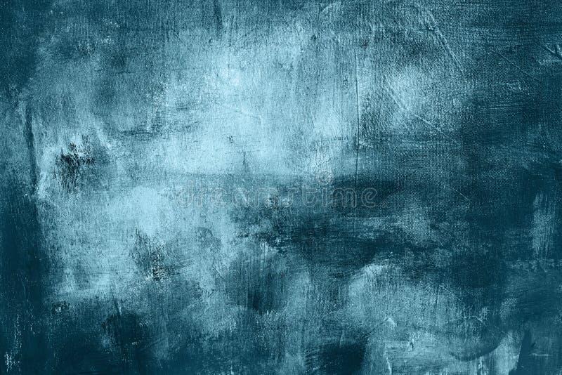 Błękitna grungy obraz tekstura lub tło zdjęcie royalty free