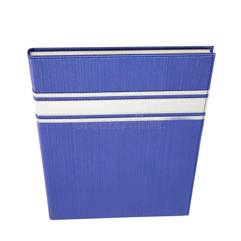 Download Błękitna Hardcover Książki Pozycja Odizolowywająca Na Bielu Zdjęcie Stock - Obraz złożonej z tło, hardcover: 28972348