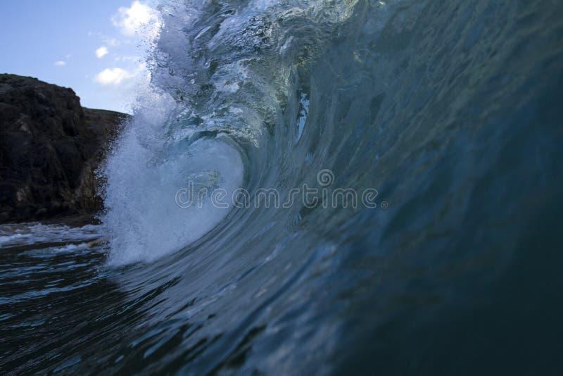 Błękitna hiszpańska dziura zdjęcia stock