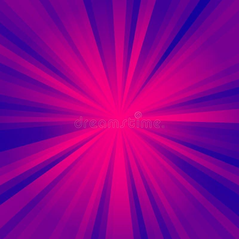 Błękitna i purpurowa oświetleniowa tekstura, piękna oświetleniowa tekstura ilustracji