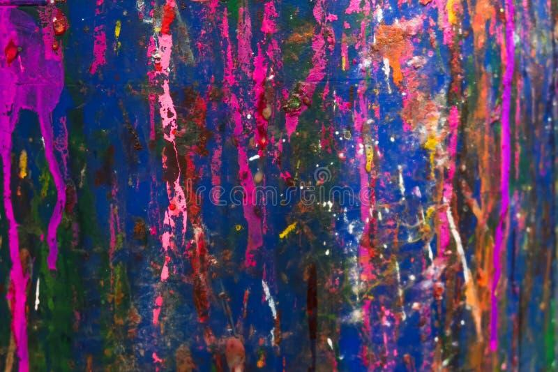 Błękitna i różowa szorstka tekstura zdjęcie royalty free
