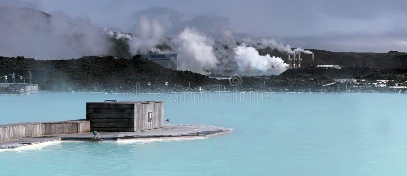 błękitna laguna Iceland zdjęcie royalty free