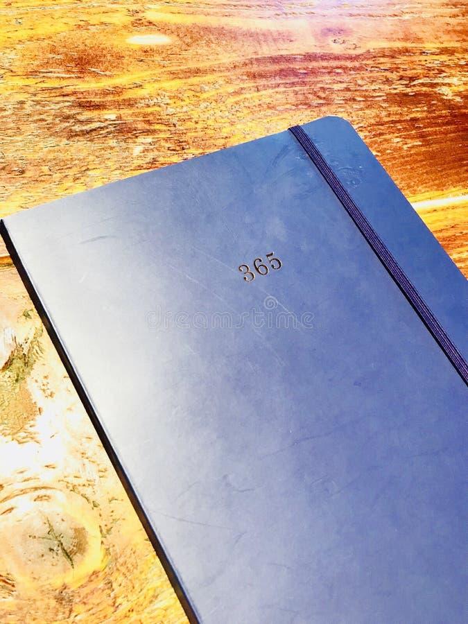 Błękitna nabiał książka zdjęcia royalty free