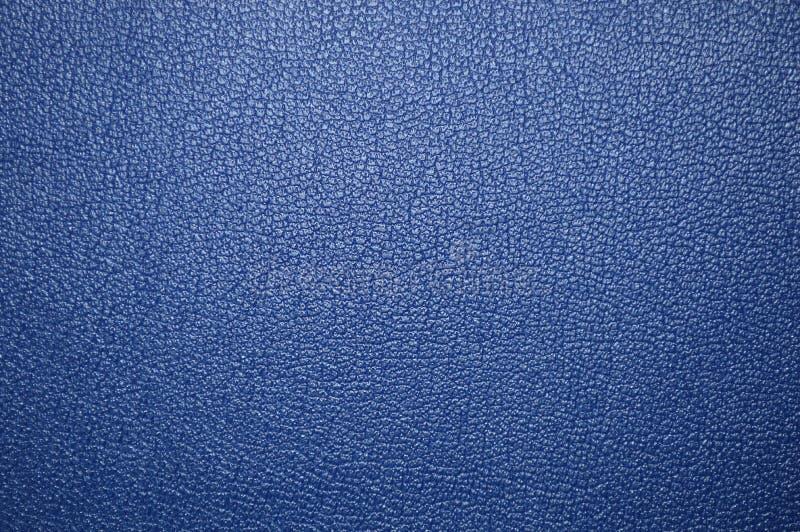 Błękitna piękna rzemienna tekstura jako tło obraz stock